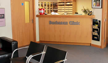 Specialists in orthotics, sports injury and corporate wellness. Image shows Buchanan Clinic in Glasgow